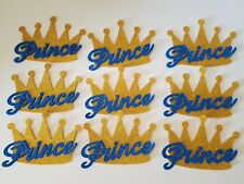 10 Baby Shower Prince Gold Crowns Foam Party Decorations it's a Boy Favors Game