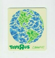 Toys R Us Gift Card - Square Style / Save the Earth, Save the Planet - No Value