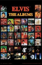ELVIS PRESLEY ~ ALBUM COVERS 22x34 MUSIC POSTER King Of Rock NEW/ROLLED!
