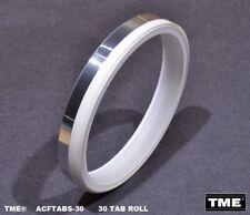 Sensing Foil Tabs Pre-Cut Real Aluminum Foil 30 Tab Roll for Open Reel Tape
