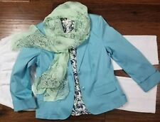 Women's Size 12 Clothing Lot Outfit 4pc Spring summer Casual, Nice!