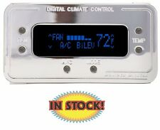 Climate Control Panel for Vintage Air Gen II Chrome with Blue - DCC-2200-C-B