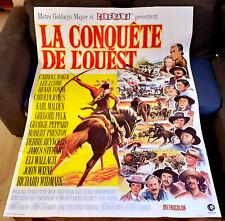La conquête de l'Ouest (Western) - FORD / HATHAWAY - Affiche Cinéma (120x160)