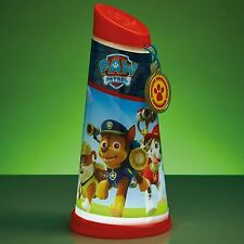 PAW PATROL GO GLOW NIGHT BEAM TILT TORCH & NIGHT LIGHT 2 IN 1 100% OFFICIAL