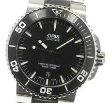ORIS Aquis 7653 Date black Dial Automatic Men's Watch_618631