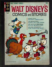 GOLD KEY WALT DISNEY'S COMICS STORIES 292 VGF 5.0 TURKEY THANKSGIVING BARKS