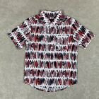 NEW Childrens Place Boys Small 5/6 Shirt Patriotic Red White Blue Surf Board USA