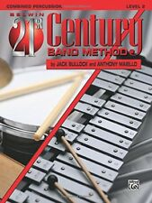 BELWIN-21st CENTURY BAND METHOD LEVEL 2 COMBINED PERCUSSION MUSIC BOOK-NEW-SALE!