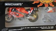 Minichamps 122011446 - Honda VTR 1000 Rossi Vainqueur 8h Suzuka 2001 *** 1/12