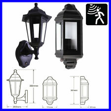 PIR Motion Sensor E27 Outdoor IP44 Traditional Vintage Full Half LED Lantern