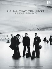 U2 - All That You Can't Leave Behind : Guitar-Tab Edition  Songbook Sheet Music