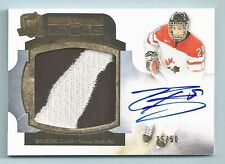 EVANDER KANE 2011/12 THE CUP LIMITED LOGOS 2 COLOR PATCH AUTOGRAPH AUTO /50