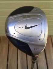 RH Nike T40 #4 Wood Driver 17° Golf Club Steel Shaft Speed Step Stiff Flex ⛳️