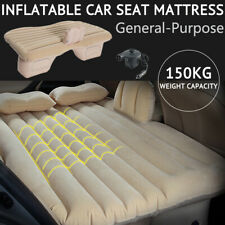 Portable Inflatable Air Seat Mattress Travel Camping SUV Car Back Bed Rest Sleep