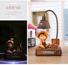 One Piece Luffy Ruffy Anime Manga Figur Lampe Nachtlight 17x10x7.5cm Neu