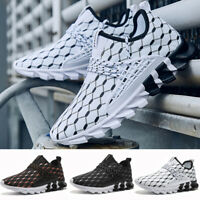 Men's Casual Sports Light Trainers Sneakers Running Breathable Athletic Shoes US