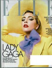 ELLE Magazine December 2019 Issue LADY GAGA Cover/Article ++ Gifts of the Season