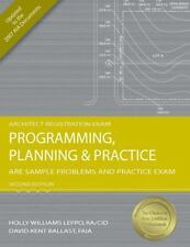 Programming Planning and Practice ARE Sample Problems and Practice Exam -Ballast