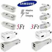 Original Samsung Adaptive Rapid Fast Charger Micro USB Cable S7 S6 Edge Note 5 4