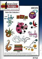 Amazing Designs - Retro Chic Collection I (CD-ROM, 2006)