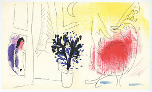 Marc Chagall original lithograph 9101472