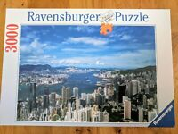 Ravensburger Puzzle 3000 Pieces Jigsaw Puzzle Hong Kong Skyline No 17 0166