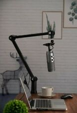 THRONMAX Zoom Adjustable Microphone Boom Arm Stand 360-degree Rotating Mic