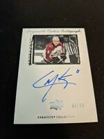 2019/20 UPPER DECK ICE CALE MAKAR EXQUISITE ROOKIE AUTOGRAPH /99