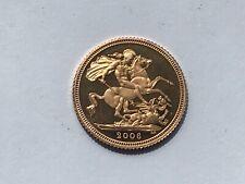 More details for scarce 2006 elizabeth ii loose proof gold half sovereign low mintage