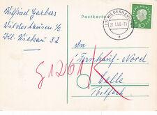 Germany 1960 Postcard Wildeshausen CDS used VGC