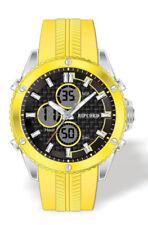 Orologi da polso Dual Time con cinturino in plastica con cronografo