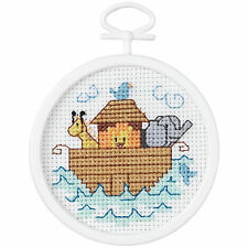 Noah's Ark Mini Counted Cross Stitch Kit