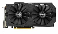 Asus GeForce GTX 1050 Ti ROG Strix Graphics Card, 4GB GDDR5, DVI-D, HDMI2.0, DP.