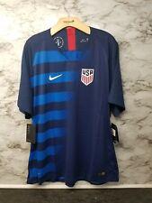 Nike 2018 Team Usa Authentic Away Soccer Jersey Blue Vaporknit 165$ Size 2Xl
