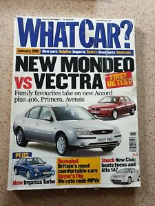 WHAT CAR ? January 2001