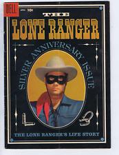 Lone Ranger #118 Dell Pub 1958 Origin Issue