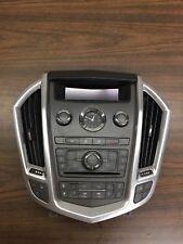 2010-2014  Cadillac SRX  Climate Control/ Radio Control Panel