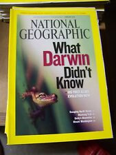 1977 National Geographic Magazines 12 Issues Complete Year with Maps/Supplements