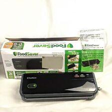 FoodSaver FM2000 Vacuum Sealing System with Starter Bag Black & Silver