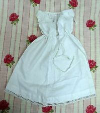 Tiny Under Garment Lace Trim Petticoat Slip Mid Century Outfit Baby Doll Antique