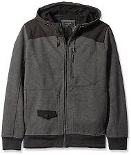 BILLABONG Men's FIELDNOTE Technical Fleece Hoodie - DGR - Medium - NWT
