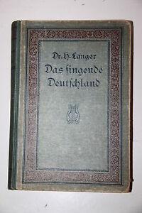 Das singende Deutschland. Album der beliebtesten Arien, ... H.Langer.Reclam 1883