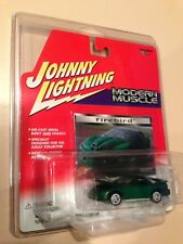 WHITE LIGHTNING 98-02 Green Pontiac Firebird Trans Am WS6 TA Johnny Diecast 1:64