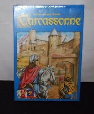 CARCASSONNE GAME KLAUS JURGEN WREDE + RIVER EXPANSION  PACK BOARD GAME FAMILY