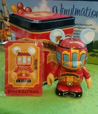 "Disney Vinylmation 3"" Park Set 1 San Francisco Red Cable Car Trolley with Tin"