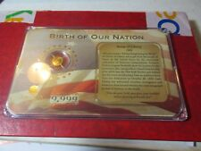 American Mint Lim. Ed 14Kt Gold Medal Birth of our Nation 2009 Statue of Liberty