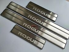 For Accessories Nissan Rogue Door Sill Plate Stainless Steel Protector 2014-2020