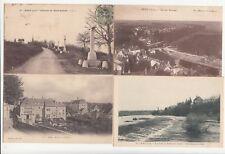 Lot 4 cartes postales anciennes JURA DOLE 5