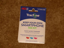 Tracfone Byop Bring Your Own Phone Sim Card Activation Kit ! Free Shipping !