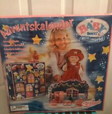 Baby Born Miniworld Adventskalender Advent Calendar Zapf Creation Sealed